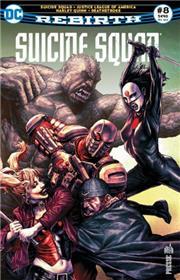 Suicide Squad Rebirth 08 Qui a tiré sur Amanda Waller ?