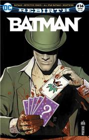 Batman Rebirth 14 La guerre des rires et des énigmes
