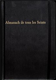 Almanach de tous les seints